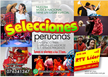 SELECCIONES PERUANAS